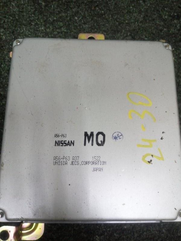 Блок управления двс Nissan Bluebird Sylphy QG10 QG18DE