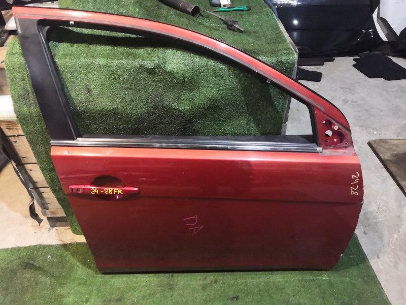 Дверь боковая Mitsubishi Galant CX4A 4B11 передняя правая