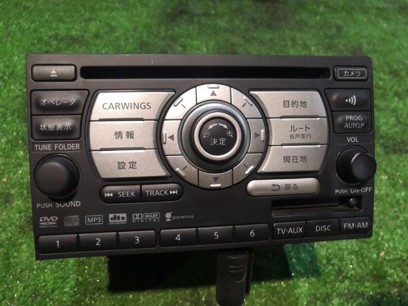 Магнитола Nissan Tiida SC11 HR15DE 2008