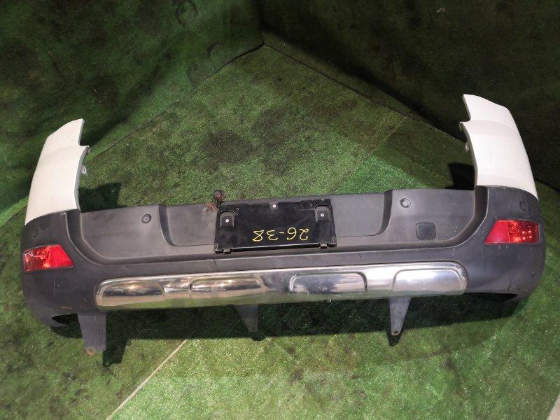 Бампер Peugeot 3008 10FJBW 2011 задний