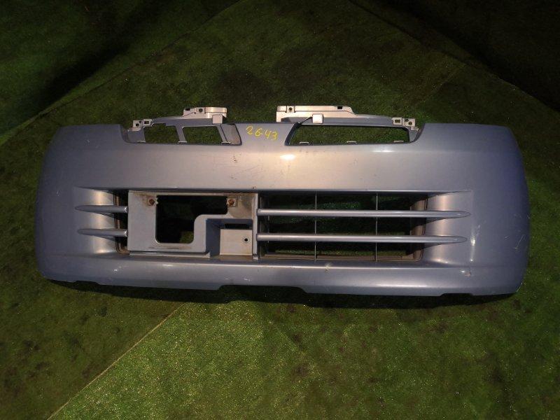Бампер Nissan Moco MG21S K6A передний