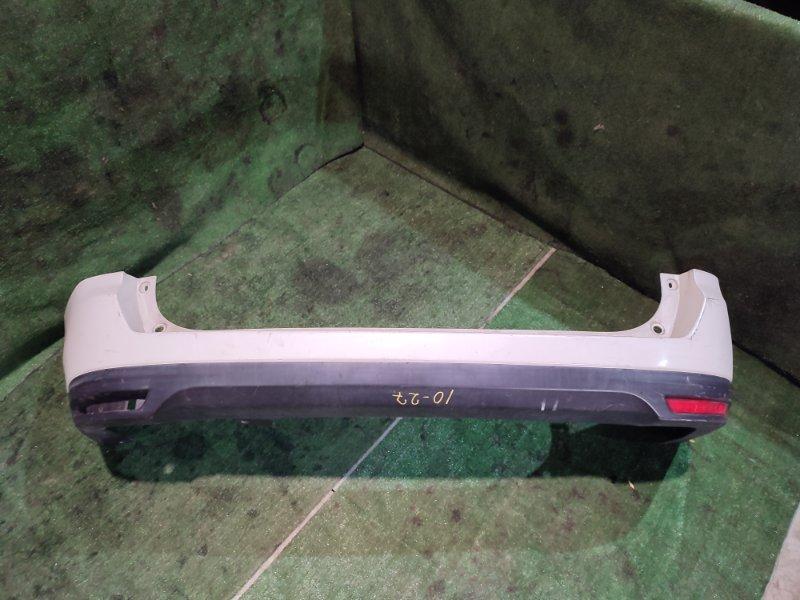 Бампер Nissan Wingroad JY12 MR18DE задний