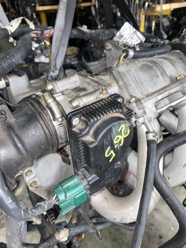 Заслонка дроссельная Nissan Ad VHNY11 QG18DE 2002