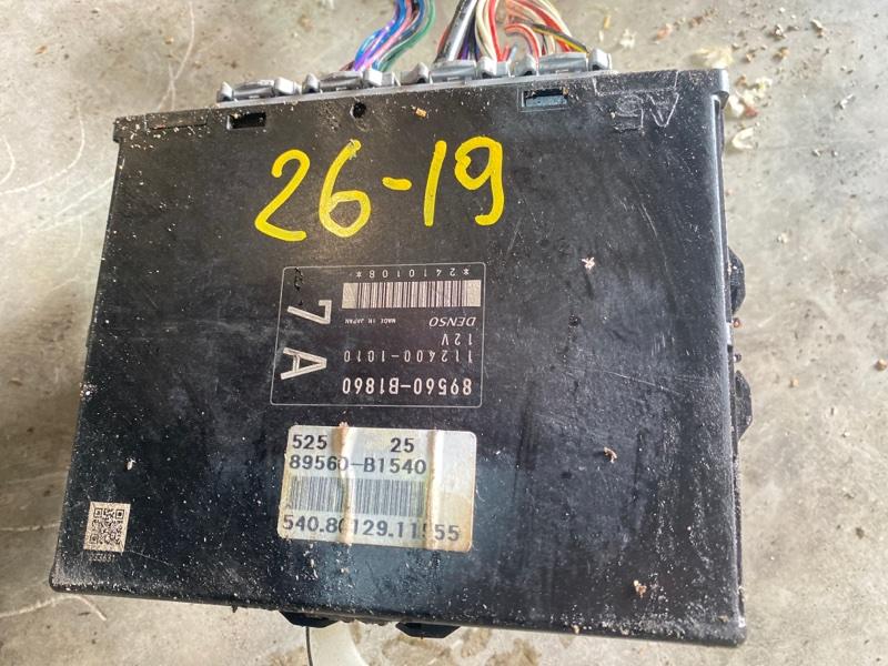 Блок управления двс Toyota Bb QNC20 K3-VE 2008