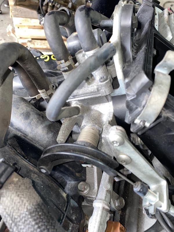 Заслонка дроссельная Toyota Bb QNC20 K3-VE 2008