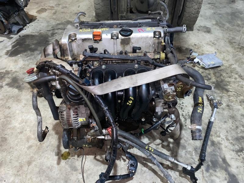 Проводка двигателя Honda Stream RN3 K20A