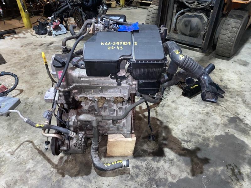 Двигатель Nissan Moco MG21S K6A