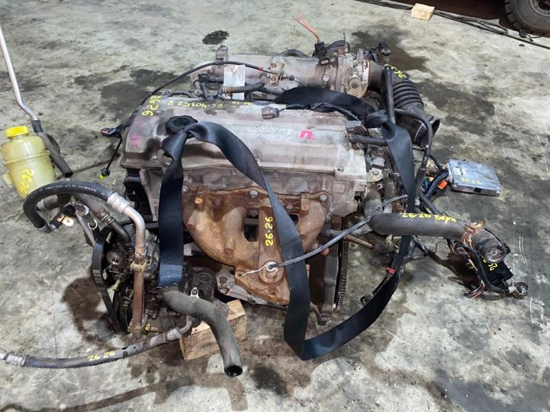 Двигатель Mazda Familia BJ5P ZL 2002
