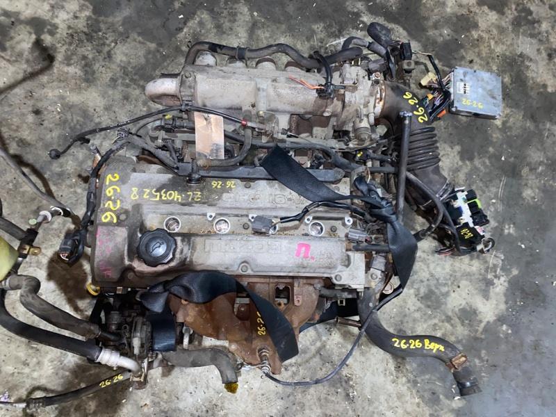 Проводка двигателя Mazda Familia BJ5P ZL 2002