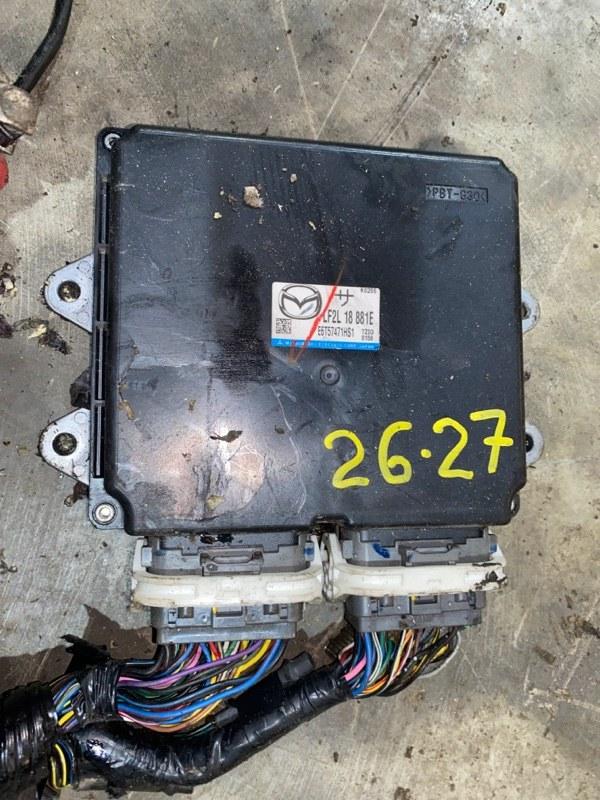 Блок управления двс Mazda Premacy CREW LF