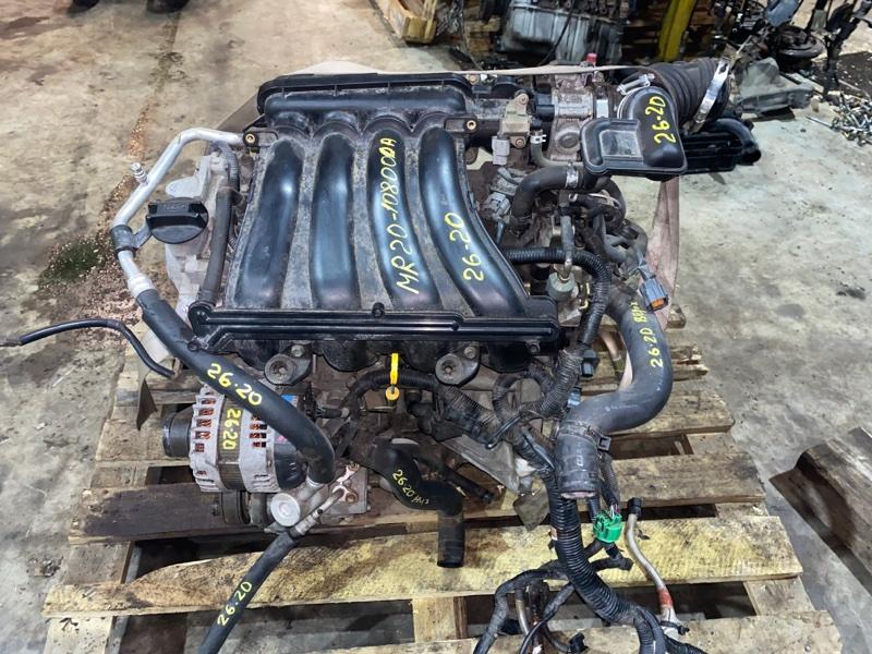 Двигатель Nissan Bluebird Sylphy KG11 MR20DE 2005