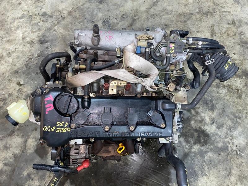 Проводка двигателя Nissan Ad VHNY11 QG18DE 2000