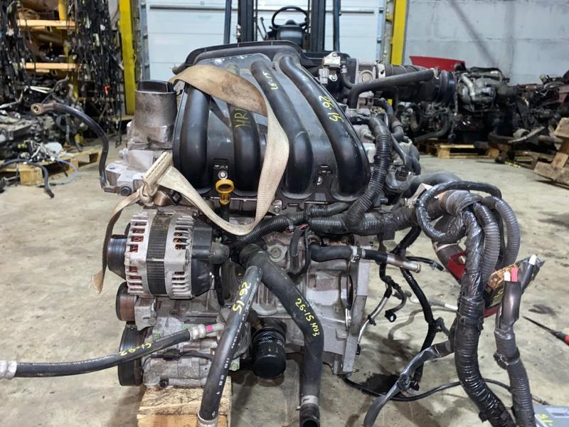 Двигатель Nissan Note E11 HR15DE 2008
