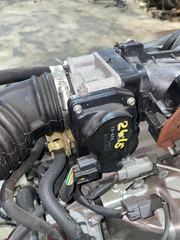 Заслонка дроссельная Nissan Note E11 HR15DE 2008