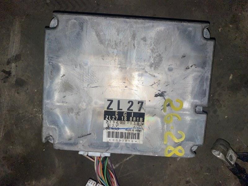 Блок управления двс Mazda Familia BJ5P ZL 2002
