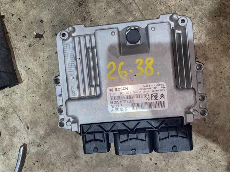 Блок управления двс Peugeot 3008 10FJBW 2011