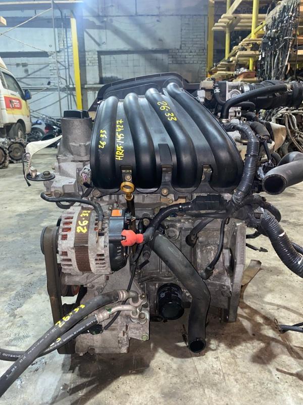 Двигатель Nissan Tiida NC11 HR15 2005