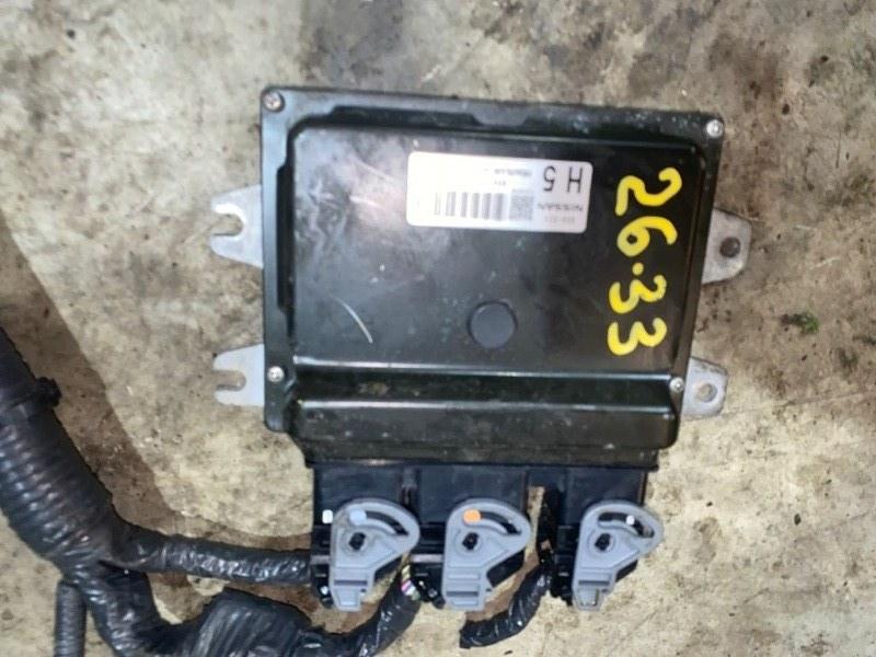 Блок управления двс Nissan Tiida NC11 HR15 2005