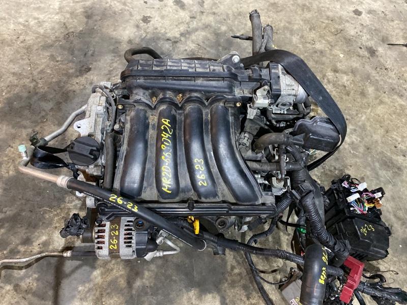 Двигатель Nissan Serena C25 MR20DE 2008