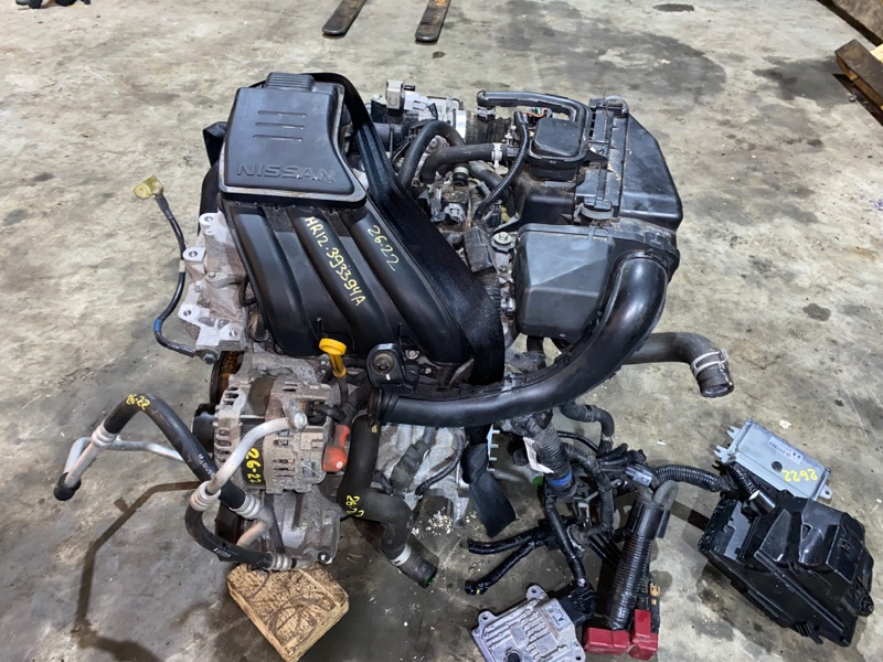 Двигатель Nissan March K13 HR12DE 2011