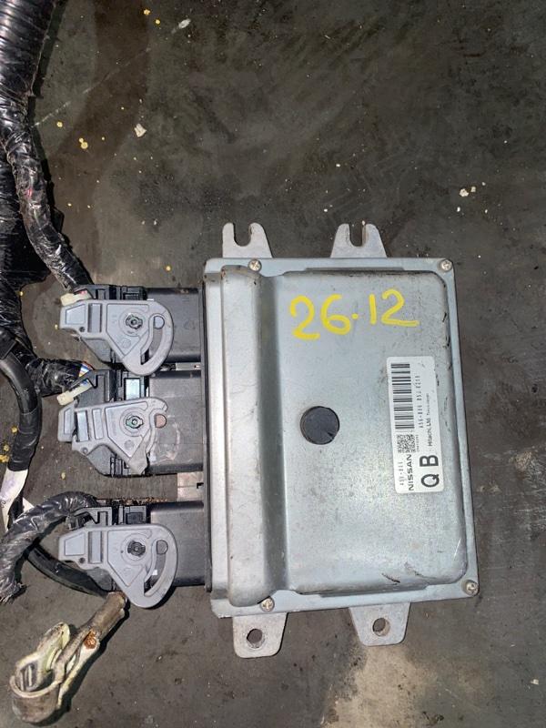 Блок управления двс Nissan Tiida C11 HR15DE 2006