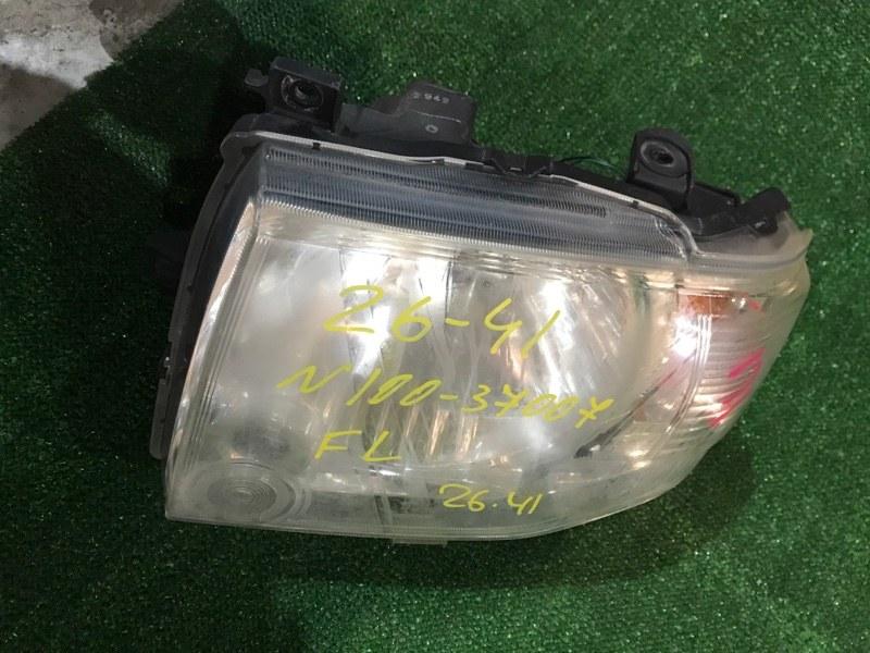 Фара Mitsubishi Pajero Mini H58A 4A30 левая