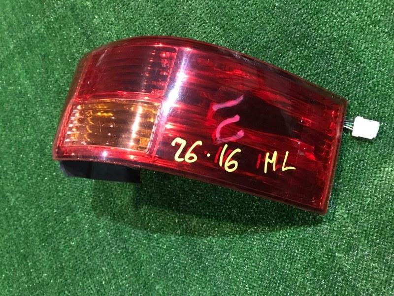 Фонарь стоп-сигнала Nissan Lafesta B30 MR20DE 2005 левый