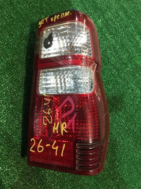 Фонарь стоп-сигнала Mitsubishi Pajero Mini H58A 4A30 2009 правый
