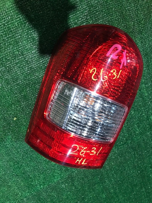 Фонарь стоп-сигнала Mazda Mpv LWEW FS 2002 левый