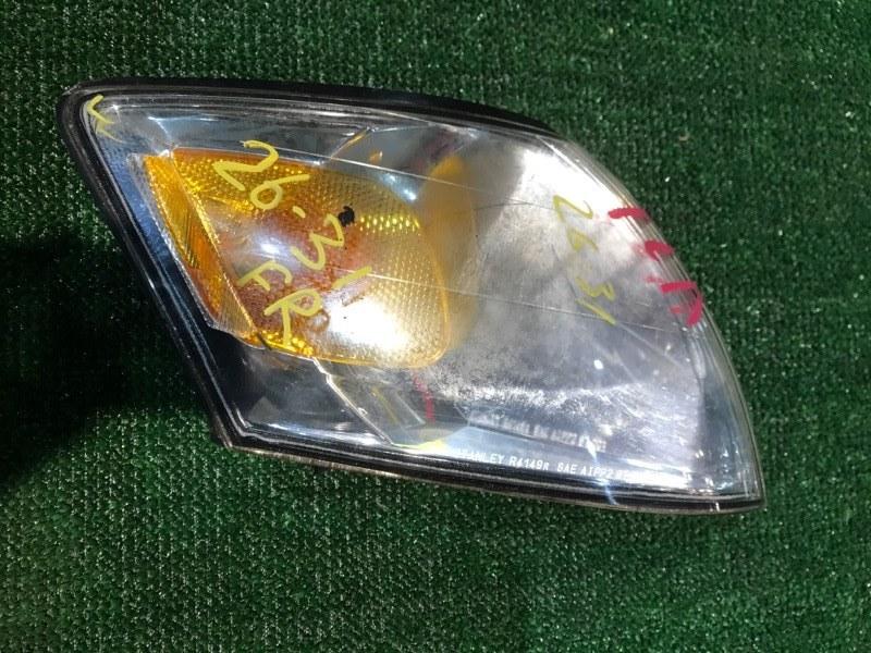 Габарит Mazda Mpv LWEW FS 2002 передний правый