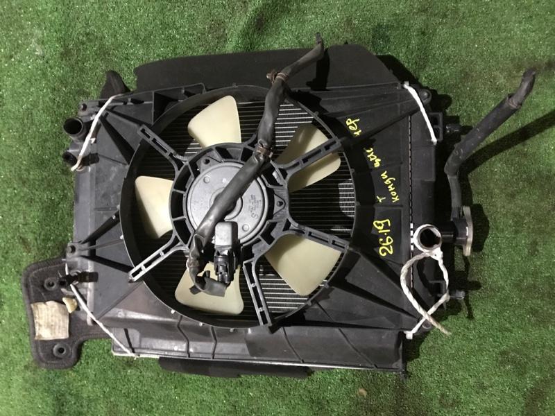 Радиатор двигателя Toyota Bb QNC20 K3-VE 2008
