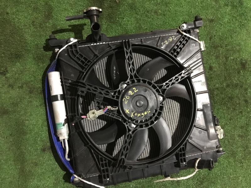 Радиатор двигателя Nissan March K13 HR12DE 2011