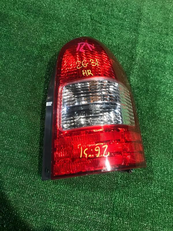 Фонарь стоп-сигнала Mazda Mpv LWEW FS 2002 правый