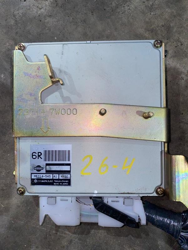 Блок управления двс Nissan Stagea NM35 VQ25DD 2004