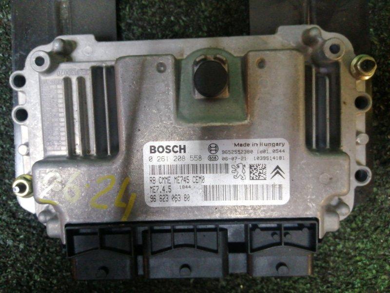 Блок управления двс Peugeot 307Sw NFU (TU5JP4) 2008