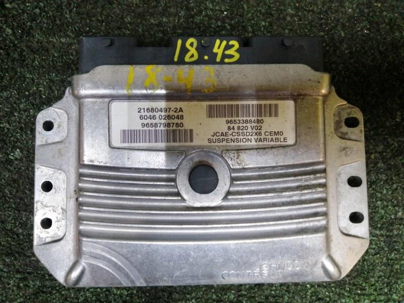 Блок управления кпп Peugeot 407 XFV (ES9A) 2002