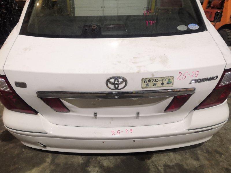 Крышка багажника Toyota Premio NZT240 1NZ-FE