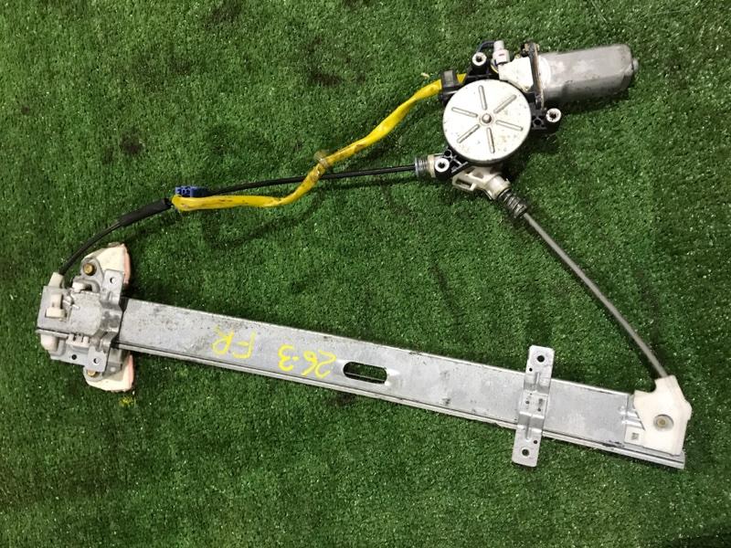 Стеклоподъемник Honda Stream RN3 K20A передний правый