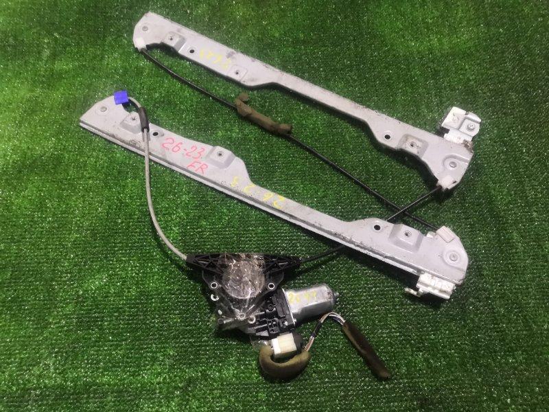 Стеклоподъемник Nissan Serena C25 MR20DE 2008 передний правый