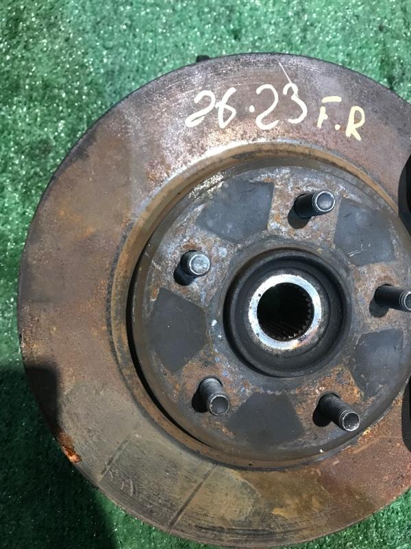 Диск тормозной Nissan Serena C25 MR20DE 2008 передний правый