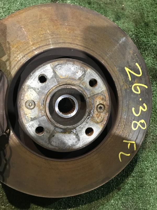 Диск тормозной Peugeot 3008 10FJBW 2011 передний левый