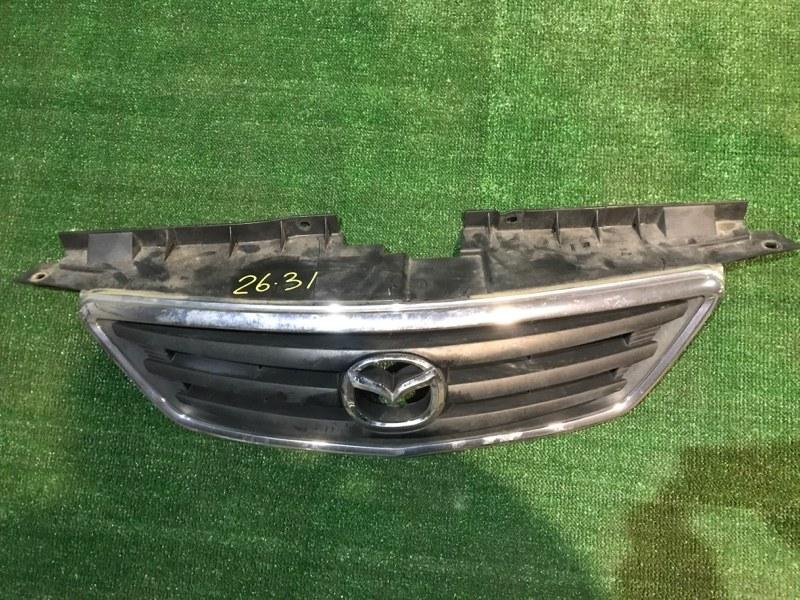 Решетка радиатора Mazda Mpv LWEW FS 2002