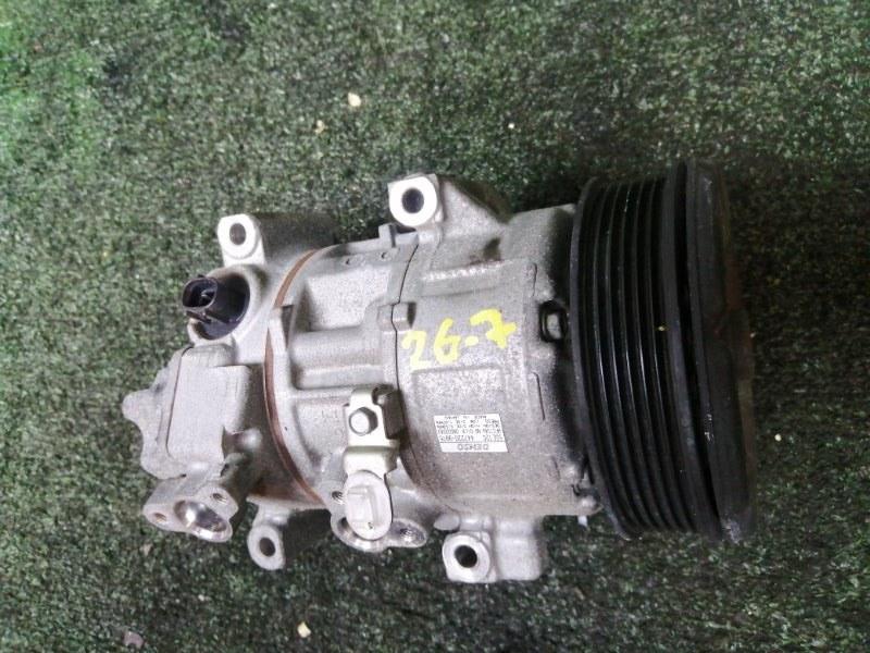 Компрессор кондиционера Toyota Wish ZNE10G 1ZZ-FE
