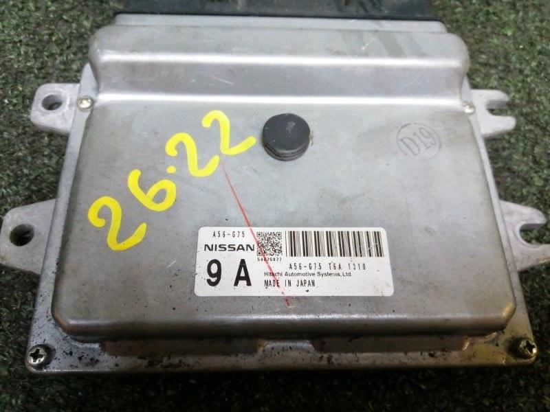 Блок управления двс Nissan March K13 HR12DE 2011