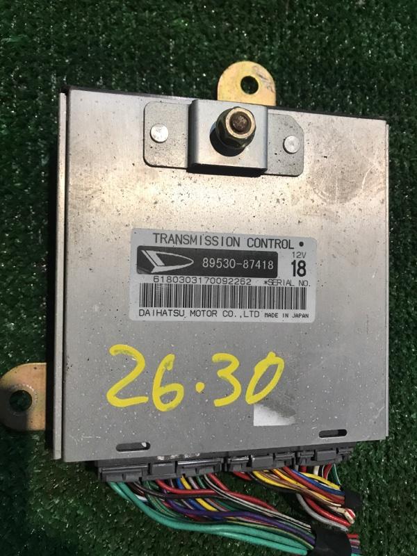 Блок управления кпп Toyota Cami J102E K3-VET 2000