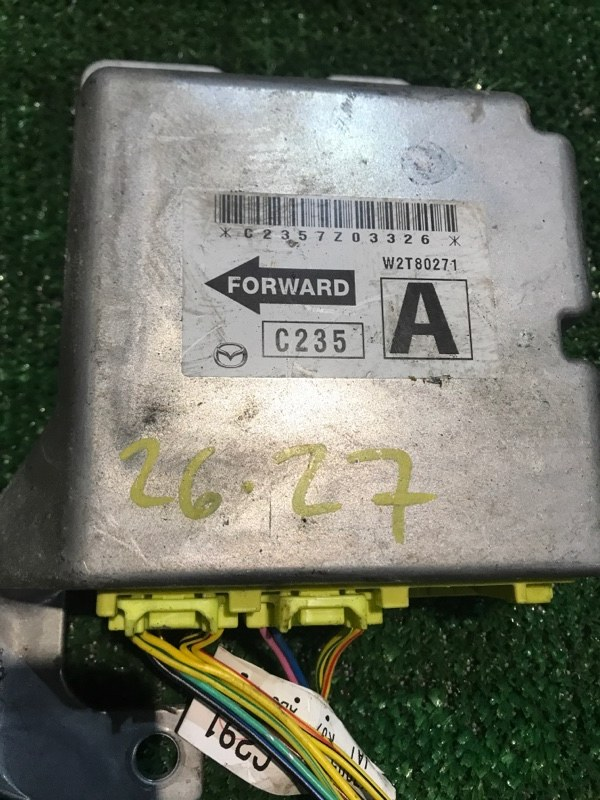 Блок управления airbag Mazda Premacy CREW LF