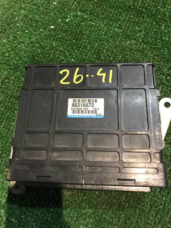 Блок управления двс Mitsubishi Pajero Mini H58A 4A30