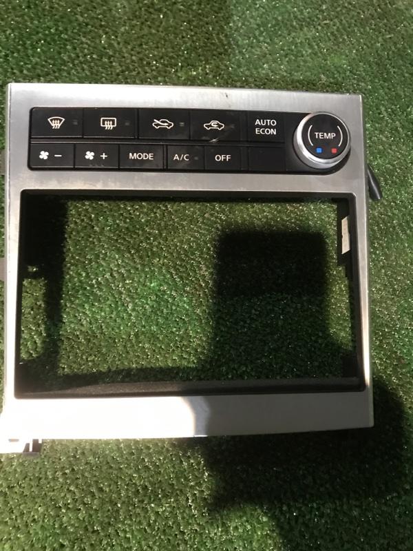 Блок управления климат-контролем Nissan Stagea NM35 VQ25DD 2004