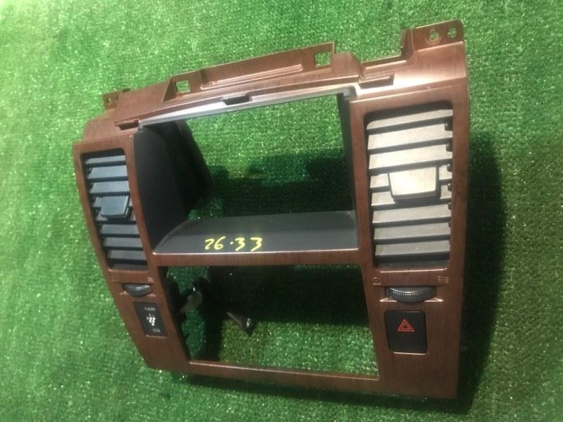 Рамка магнитофона Nissan Tiida NC11 HR15 2005