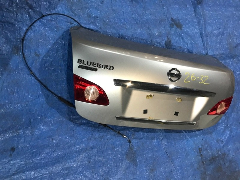 Крышка багажника Nissan Bluebird Sylphy KG11 MR20DE 2007
